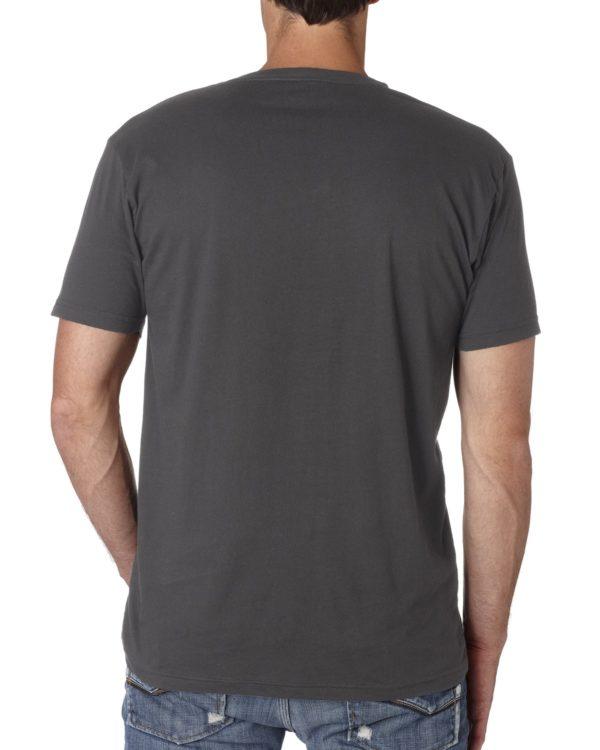 Next Level Mens 3200 V-Neck T Shirt Back
