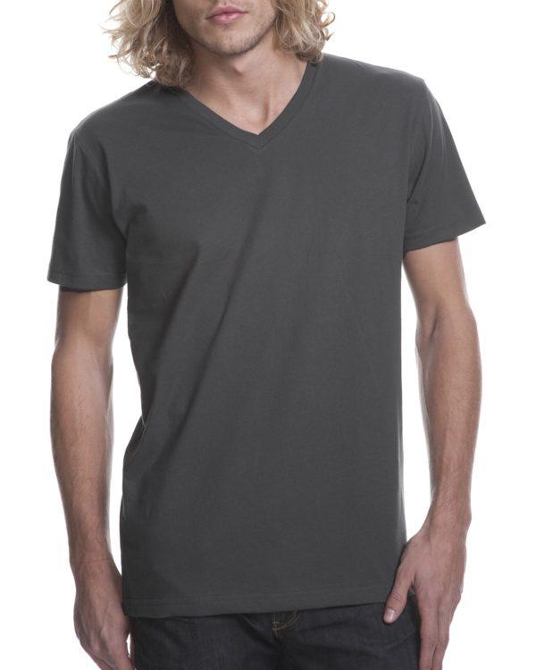 Next Level Mens 3200 V-Neck T Shirt Front