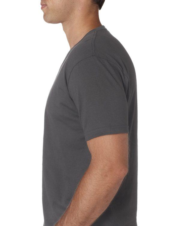 Next Level Mens 3200 V-Neck T Shirt Side