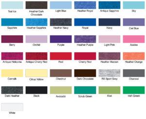 G64000L Gildan Color Swatch