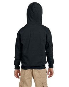 G-18600B Gildan Youth Pullover Hoodie Back