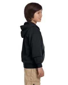 G-18600B Gildan Youth Pullover Hoodie Side