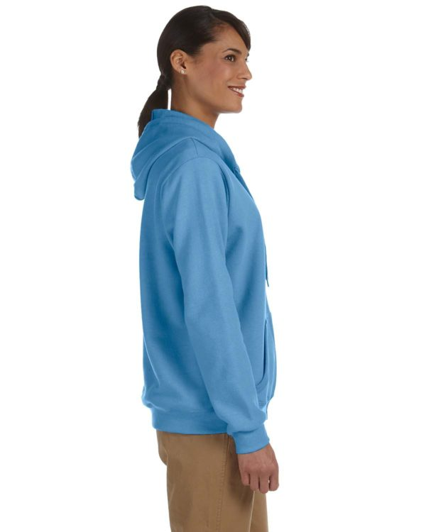 G-18600FL Gildan Ladies Zip Up Hoodie Side
