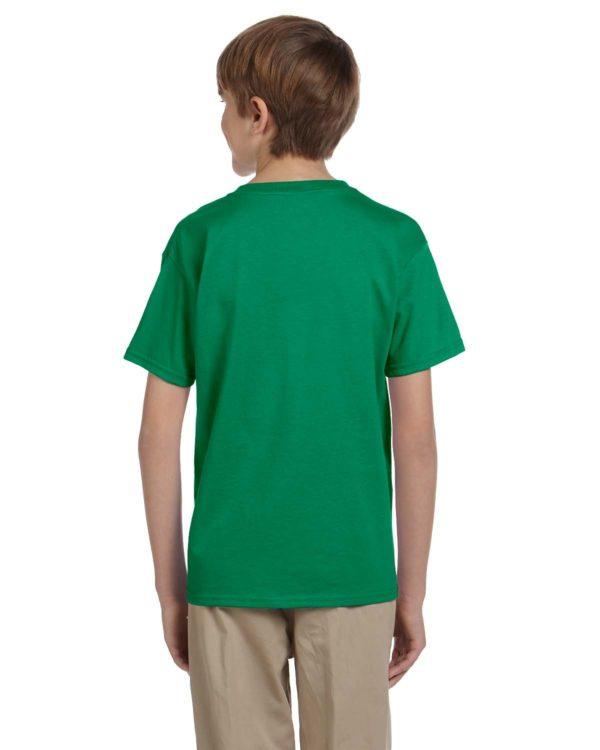 G-2000B Gildan Youth T-Shirt Back