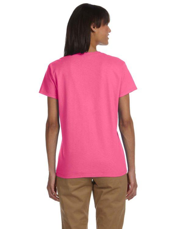 G-2000L Gildan Ladies T-Shirt Back