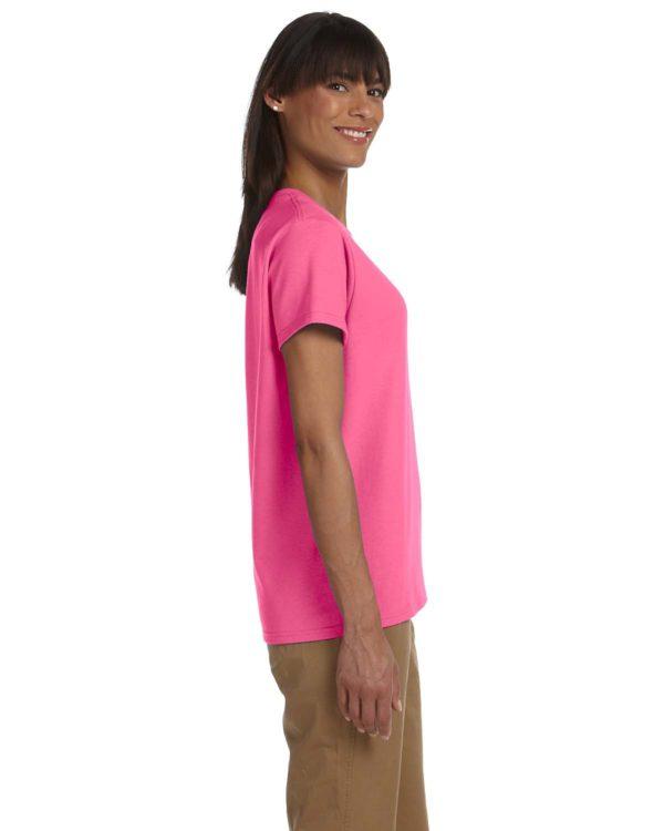 G-2000L Gildan Ladies T-Shirt Side