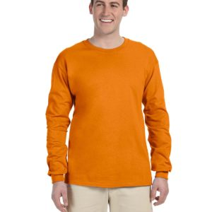 G-2400 Gildan Long Sleeve Shirt Front