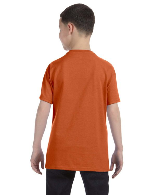 G-5000B Gildan Youth T-Shirt Back