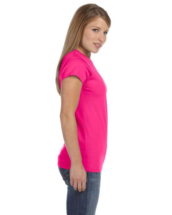 G-64000L Gildan T-Shirt Side