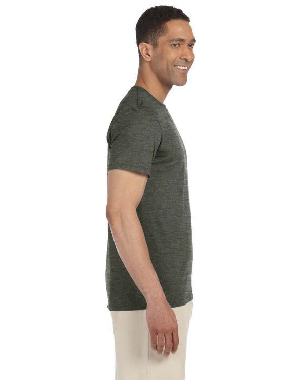 G-64000 Gildan T-Shirt Side