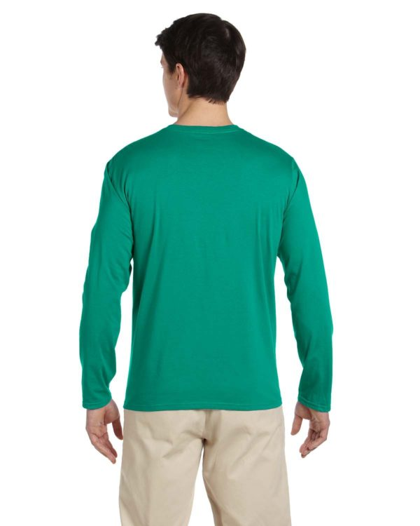 G-64400 Gildan Long Sleeve Shirt Back