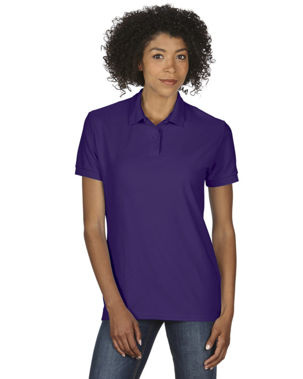 G-72800L Gildan Ladies Polo Front