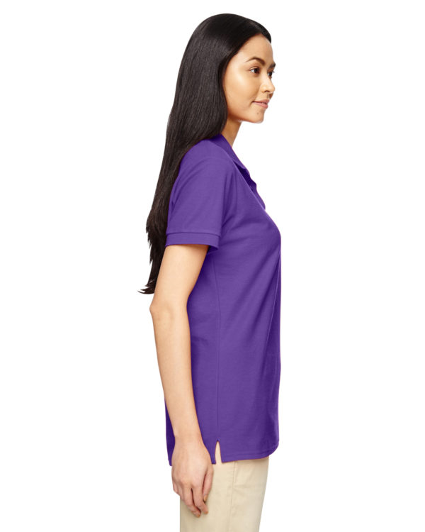 G-72800L Gildan Ladies Polo Side