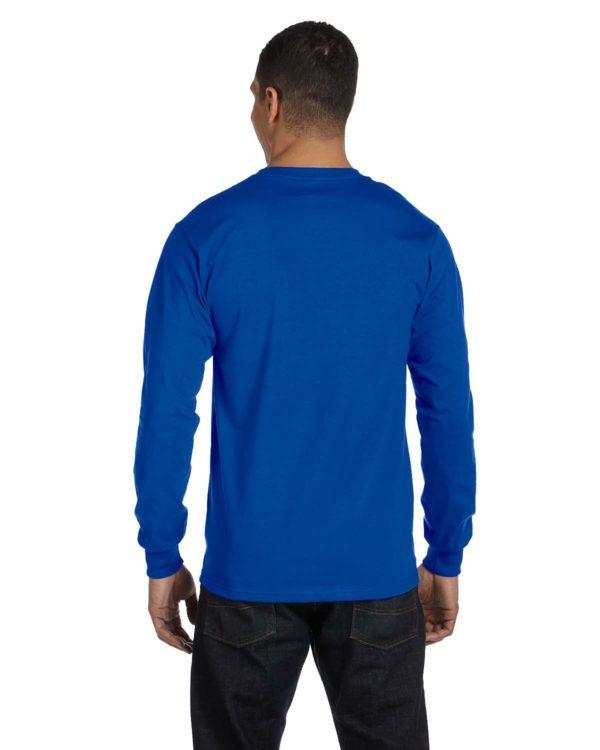 G-8400 Gildan Long Sleeve Shirt Back