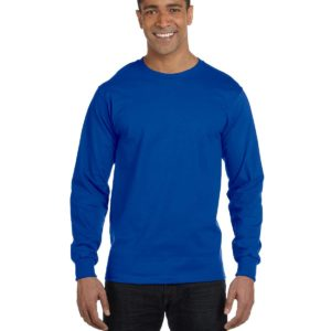 G-8400 Gildan Long Sleeve Shirt Front