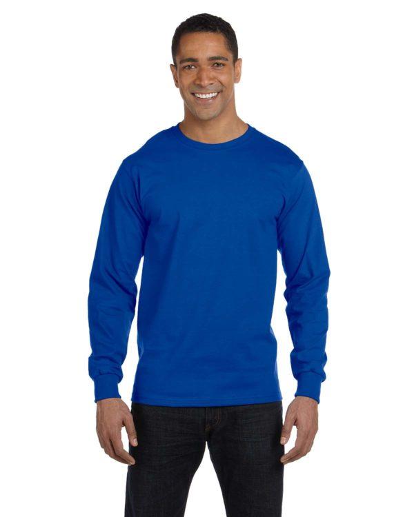 G-8400 Gildan Long Sleeve Shirt Front