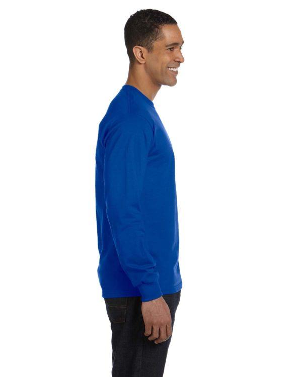 G-8400 Gildan Long Sleeve Shirt Side