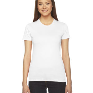 American Apparel 2102W Ladies Jersey T-Shirt Front