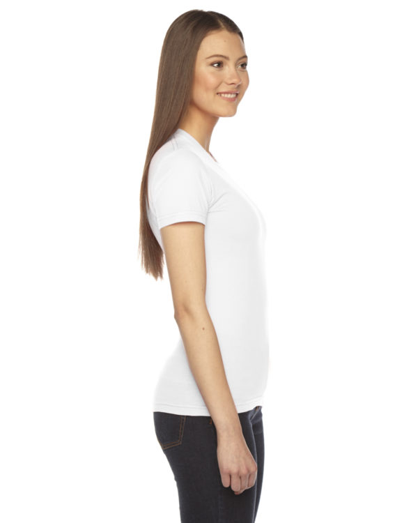 American Apparel 2102W Ladies Jersey T-Shirt Side
