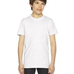 American Apparel 2201W Youth Jersey T-Shirt Front
