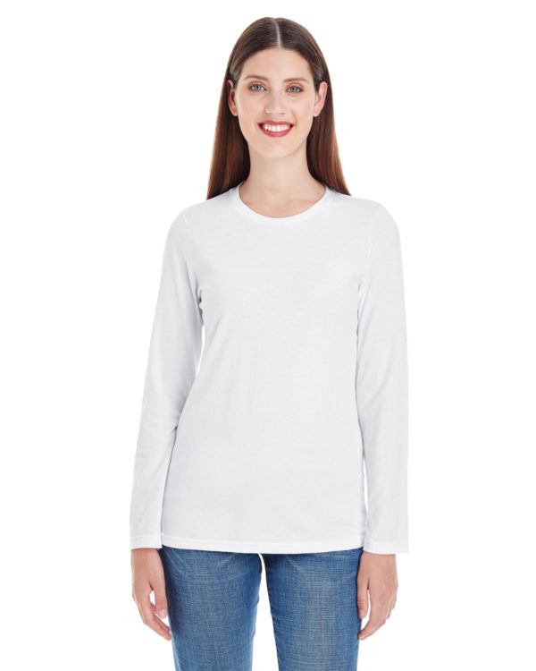 American Apparel 23337W Ladies Long Sleeve T-Shirt Front