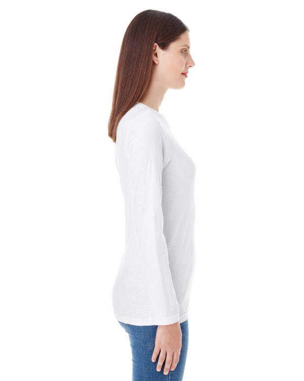 American Apparel 23337W Ladies Long Sleeve T-Shirt Side