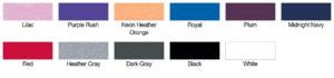 Next Level 3400L Color Swatch