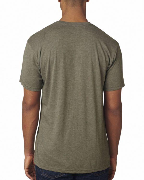 Next Level 6010 T Shirt Back