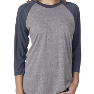 Next Level 6051 Raglan Front