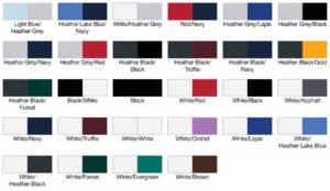 American Apparel BB453 Unisex Poly-Cotton 3/4 Sleeve Raglan Swatch