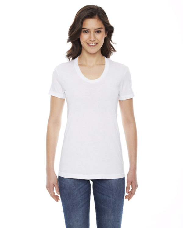 American Apparel BB301W Ladies Short Sleeve Crewneck T-Shirt Front