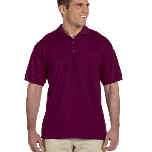 Gildan G2800 Adult Ultra Cotton Jersey Polo Front