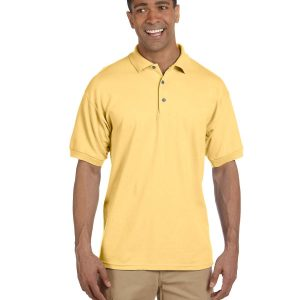 Gildan G3800 Adult Ultra Cotton Pique Polo Front