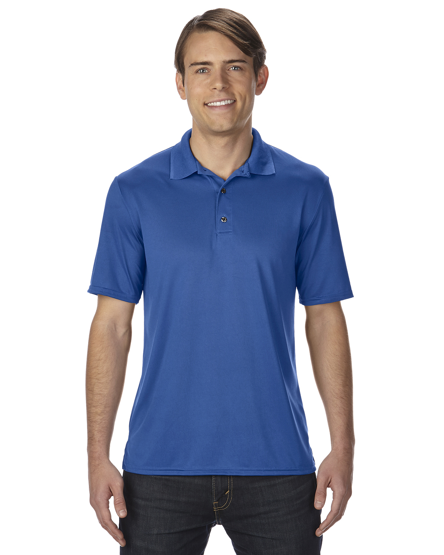 3abc7a823c4 Gildan G-44800 Adult Performance Jersey Polo - Captain Jerry's T Shirts