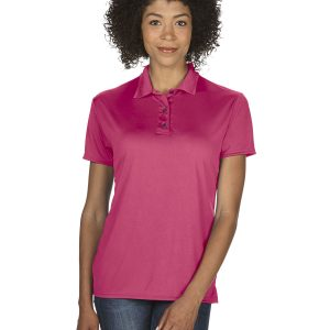 Gildan G44800L Ladies Performance Jersey Polo Front