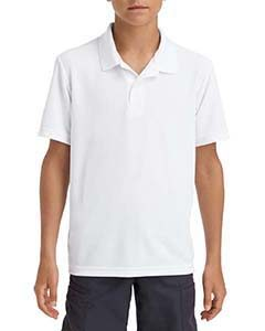 Gildan G45800B Youth Performance Double Pique Polo Front