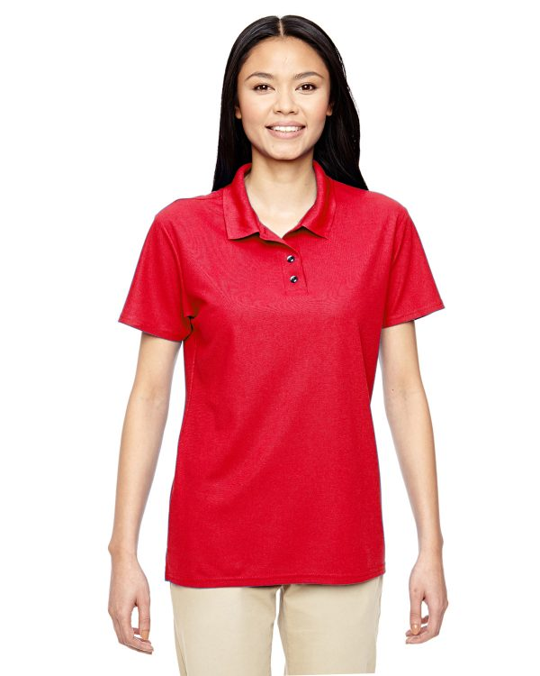 Gildan G45800L Ladies Performance Double Pique Polo Front