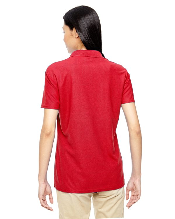 Gildan G45800L Ladies Performance Double Pique Polo Back