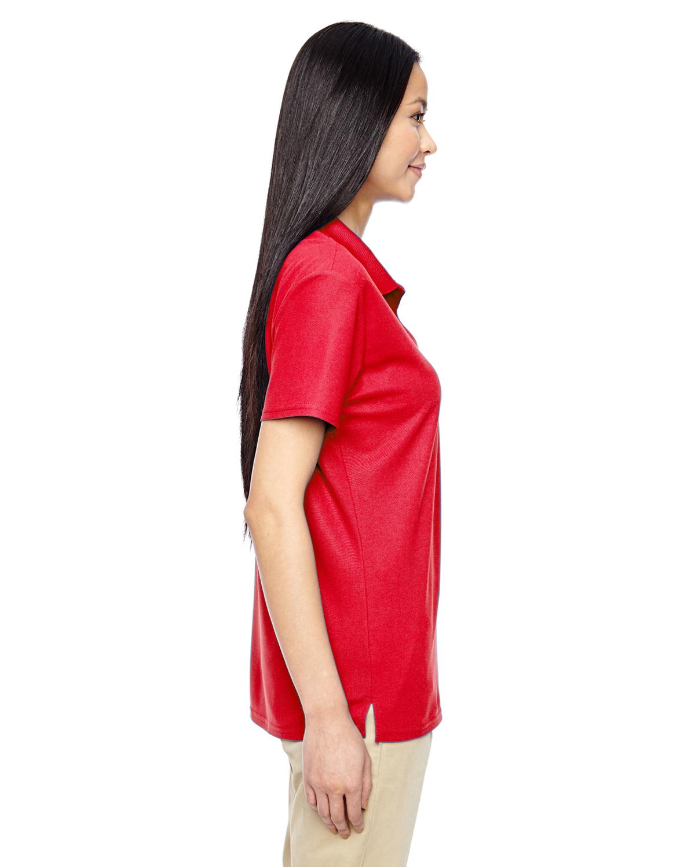 Ladies Gildan Performance Double Pique Sport Shirt Charcoal Large