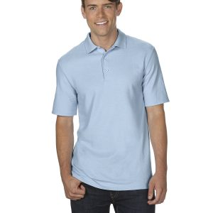 Gildan G72800 Adult Double Pique Polo Front