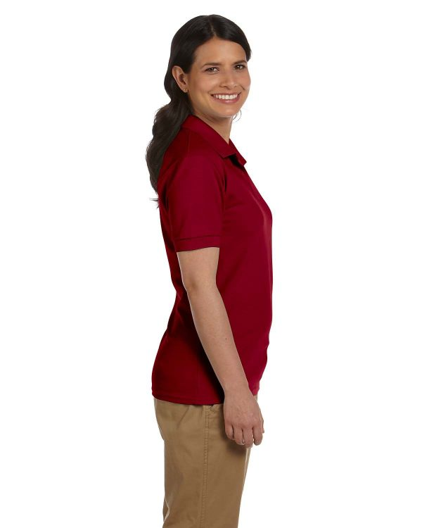 Gildan G948L Ladies Pique Polo Side