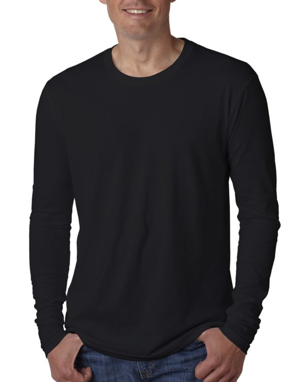 Next Level 3601 Long Sleeve Shirt Front