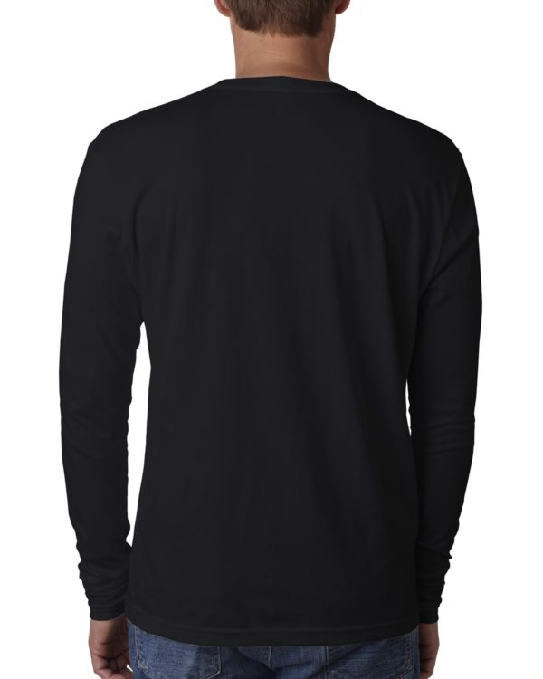 Next Level 3601 Long Sleeve Shirt Back