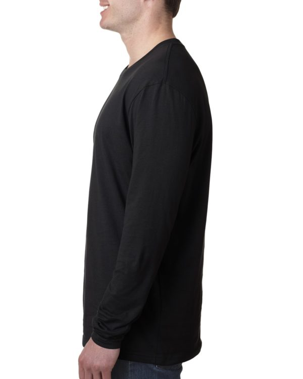 Next Level 3601 Long Sleeve Shirt Side