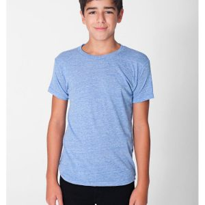 American Apparel TR201W Youth Triblend T-Shirt Front