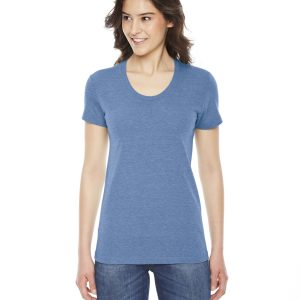 American Apparel TR301W Ladies Triblend Track T-Shirt Front