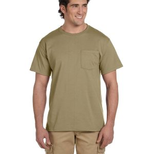 Jerzees 29P Adult DRI-POWER Active Pocket T-Shirt Front
