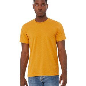 Bella Canvas 3001CVC Unisex Heather CVC T-Shirt Front