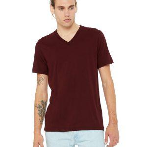 Bella Canvas 3005 Unisex Jersey Short-Sleeve V-Neck T-Shirt Front