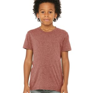 Bella Canvas 3413Y Youth Triblend T-Shirt Front